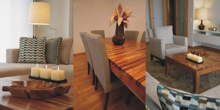 Sala Comum: Salas de estar  por Traço Magenta - Design de Interiores