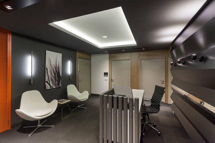 Mimoza Mimarlık – OFİS 24 ANTALYA:  tarz Ofis Alanları