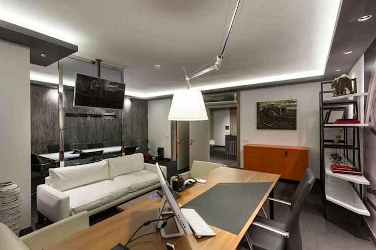 Mimoza Mimarlık – OFİS 24 ANTALYA:  tarz Ofis Alanları,
