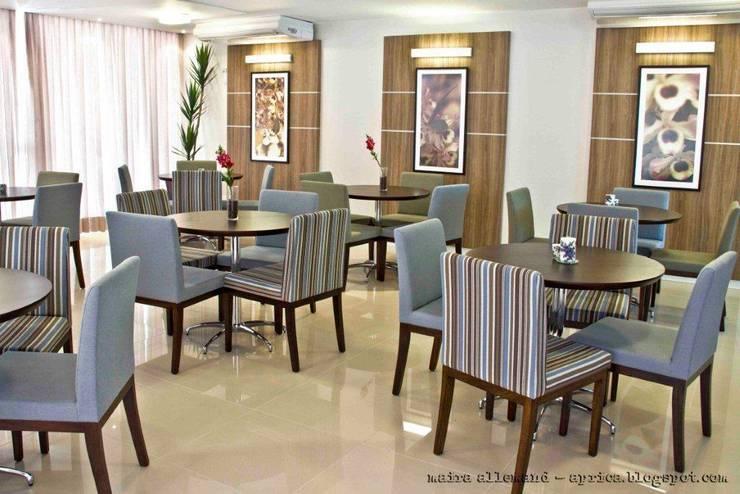 Projeto arquitetonico de área interna comum do Green Village Residence: Salas de jantar  por ArchDesign STUDIO