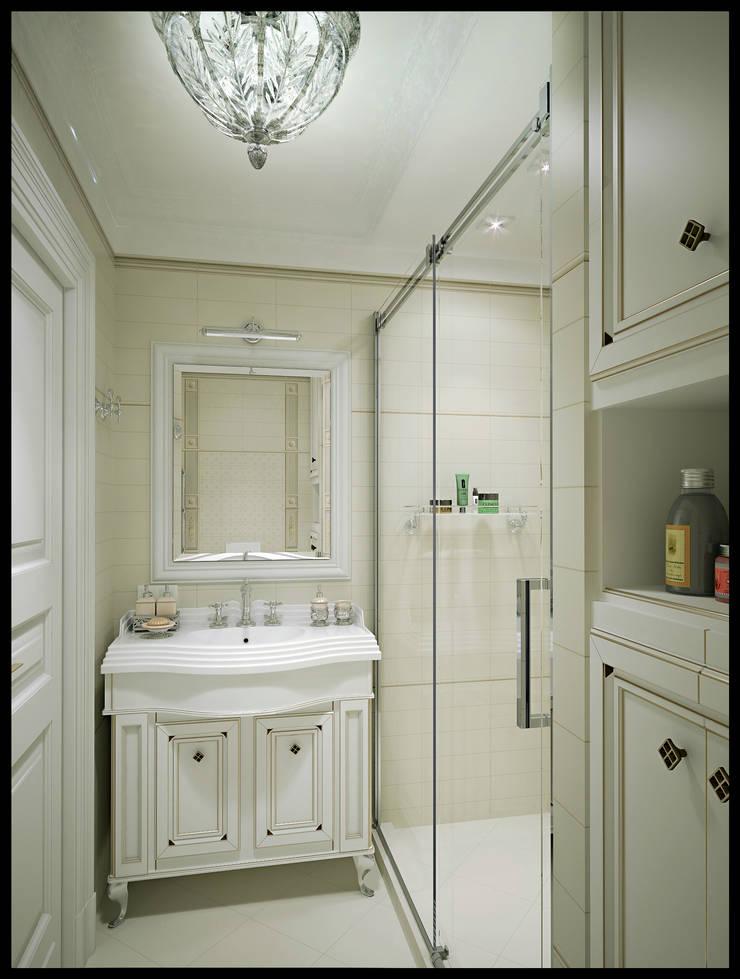 Ванная комната. Вид 1: Ванные комнаты в . Автор – Defacto studio, Классический