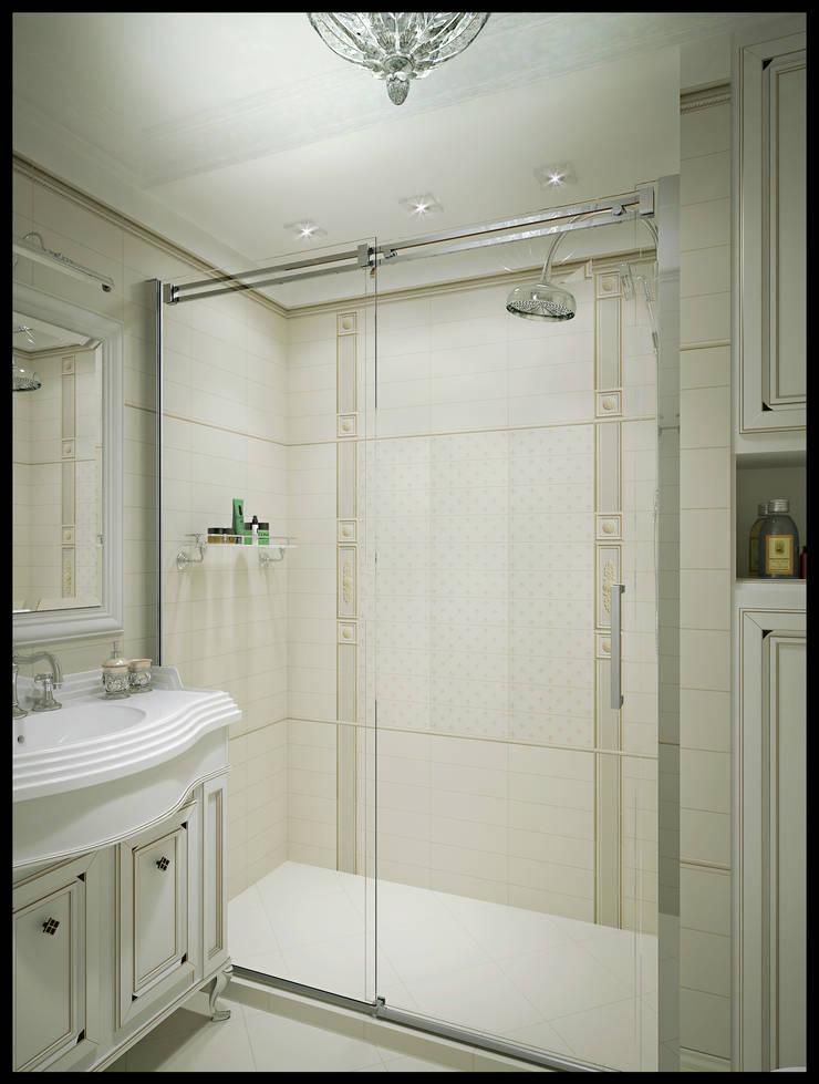 Ванная комната. Вид 3: Ванные комнаты в . Автор – Defacto studio, Классический