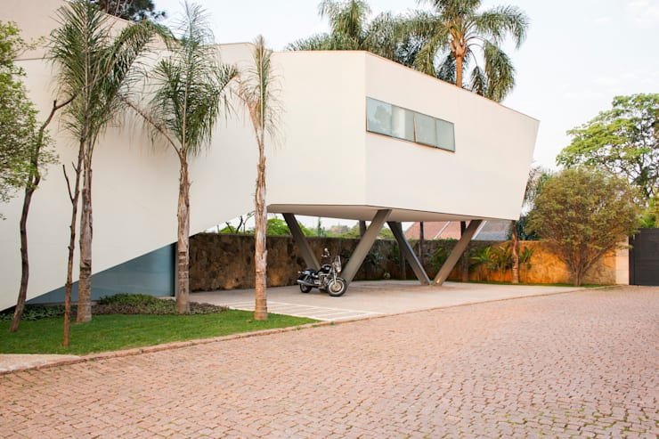 Casa Offset: Casas modernas por SAA_SHIEH ARQUITETOS ASSOCIADOS