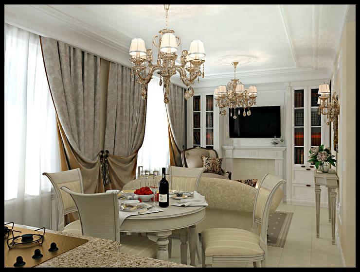 Living room by Defacto studio