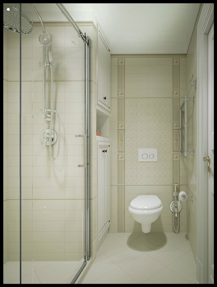 Ванная комната. Вид 2: Ванные комнаты в . Автор – Defacto studio, Классический