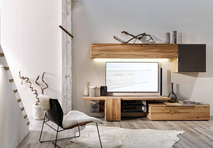 Living room by Voglauer Möbelwerk Gschwandtner & Zwilling GmbH & CoKG