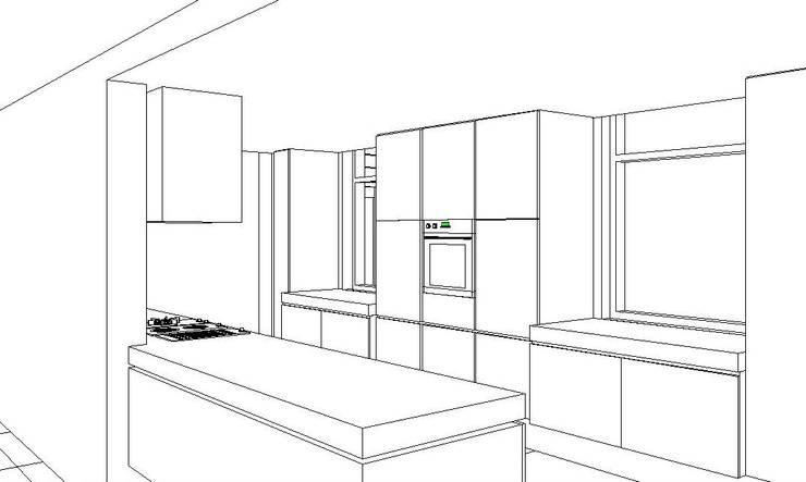 Ontwerp keuken:   door Leonardus interieurarchitect