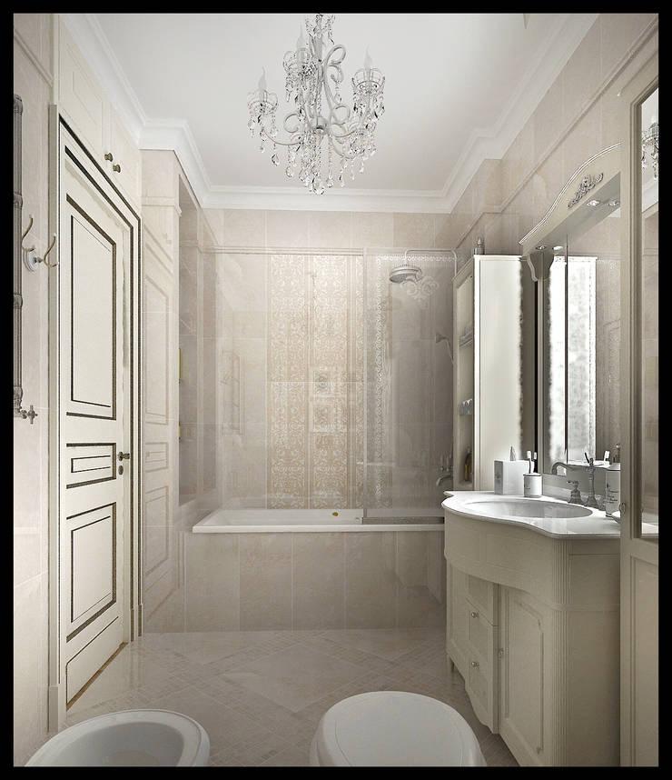 Ванная комната: Ванные комнаты в . Автор – Defacto studio