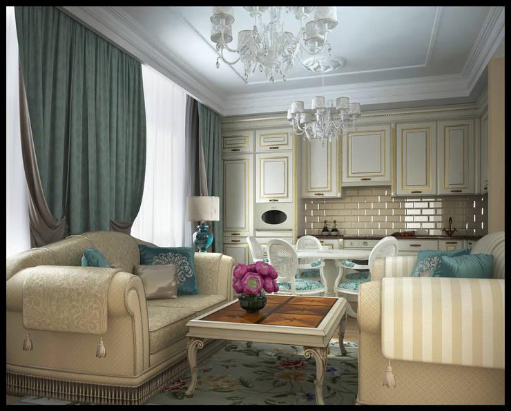 Klassische Wohnzimmer von Defacto studio Klassisch