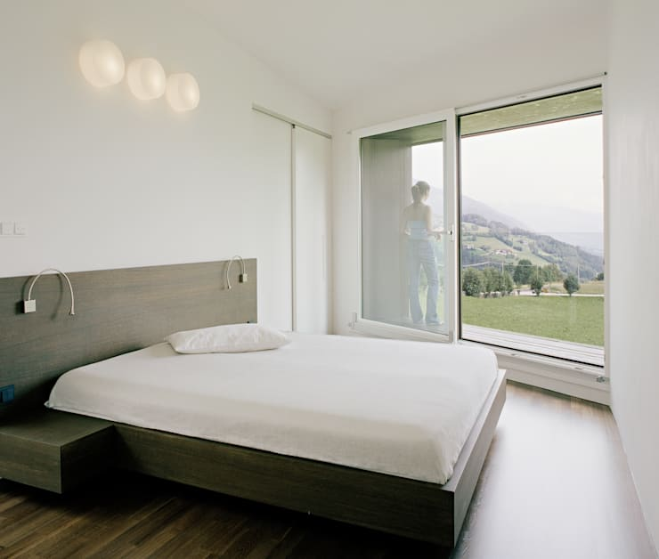 modern Bedroom by AllesWirdGut Architektur ZT GmbH