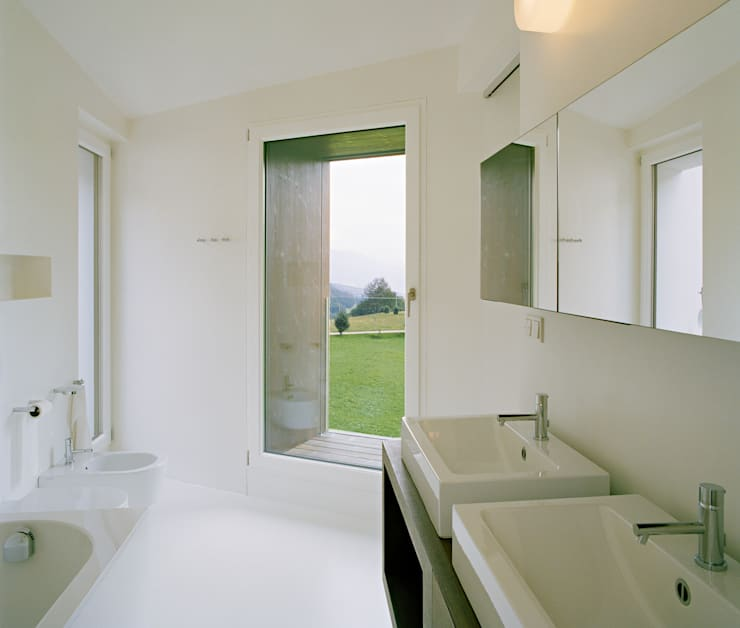 modern Bathroom by AllesWirdGut Architektur ZT GmbH