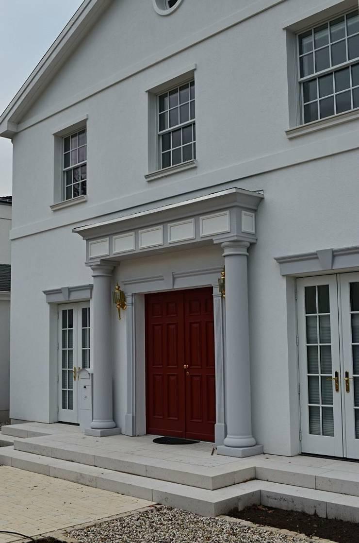 MANSION MINSTER by TWH Front Detail:  Häuser von THE WHITE HOUSE american dream homes gmbh