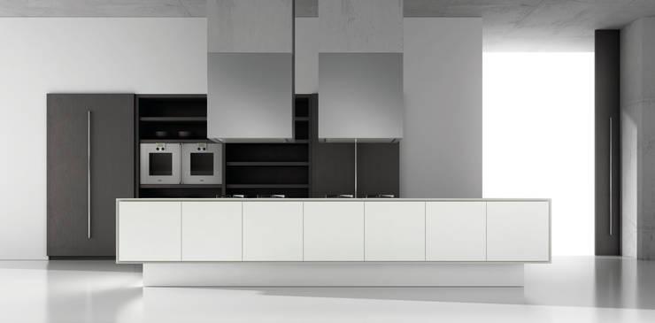 Ecopal Blanco Brillo:  Kitchen by Squaremelon