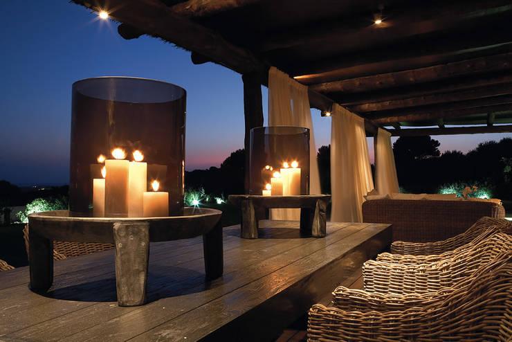 Casa Binisafúller Menorca: Terrazas de estilo  de adela cabré