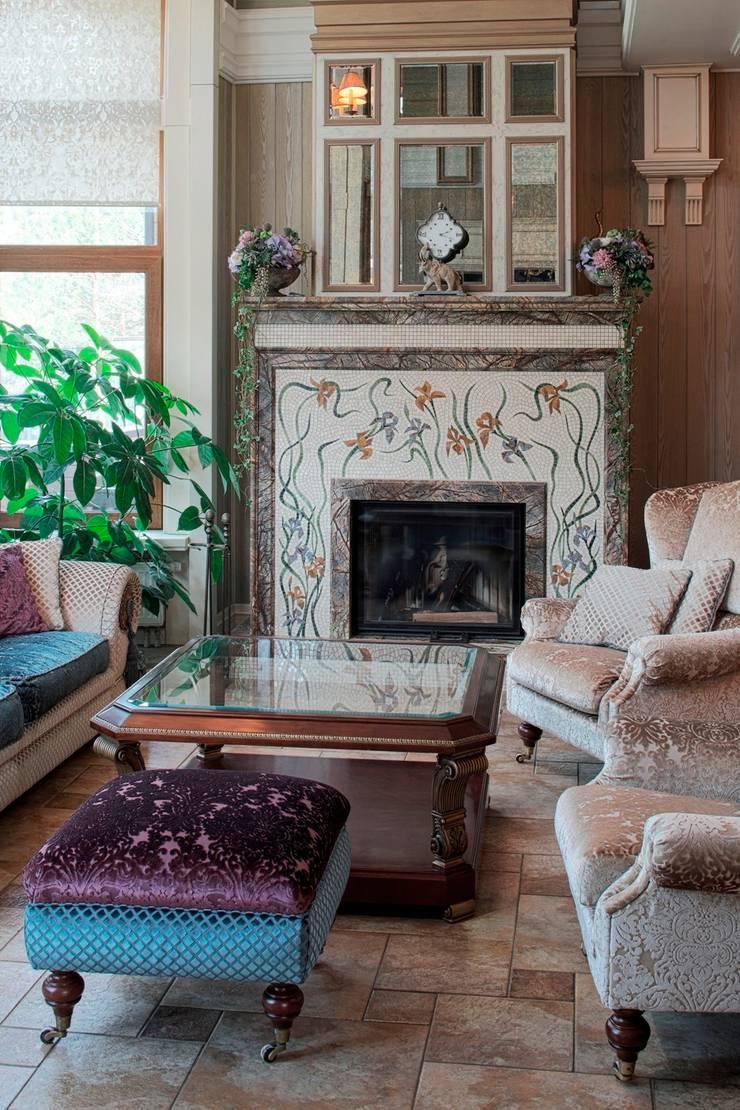 Salas de estilo clásico de Studio B&L Clásico