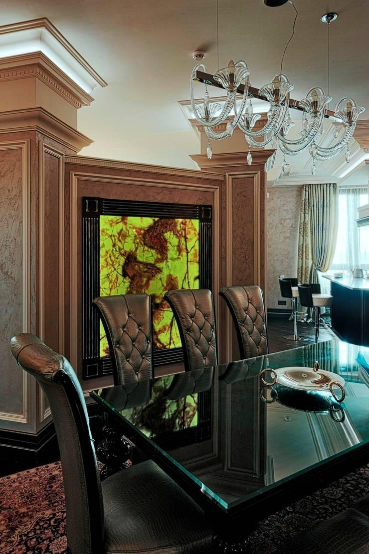 Квартира на Первомайской: Столовые комнаты в . Автор – Studio B&L