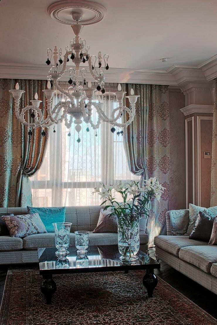 Квартира на Первомайской: Гостиная в . Автор – Studio B&L