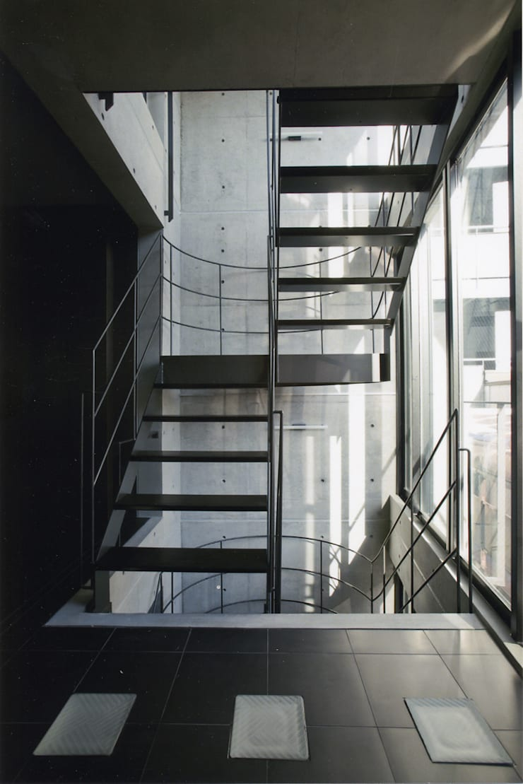 Corridor & hallway by スタジオ4設計