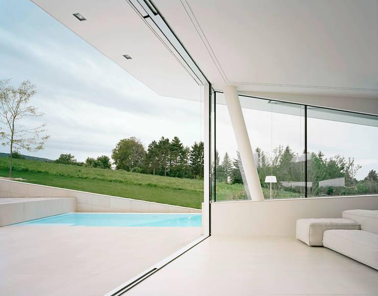 Villa  Freundorf / Österreich:  Fenster von project a01 architects, ZT Gmbh