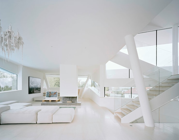 Living room by project a01 architects, ZT Gmbh