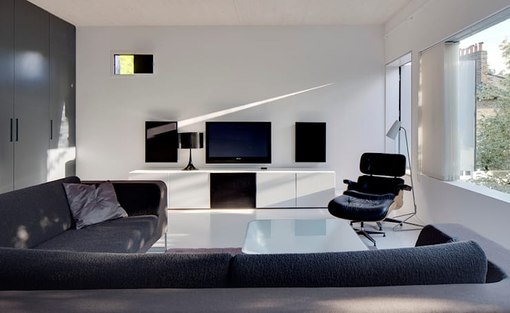 Living room: modern Living room by Ed Reeve