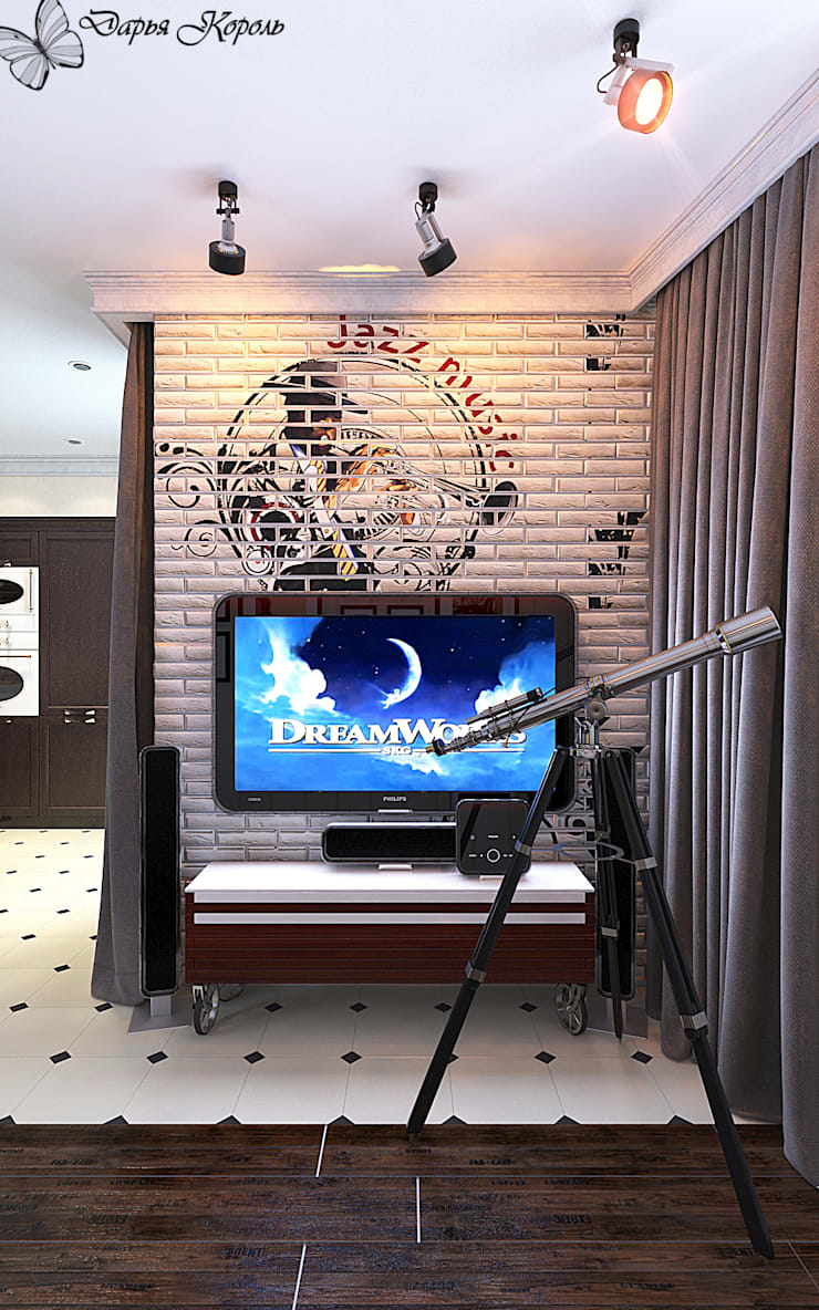 Living room by Your royal design, Eclectic