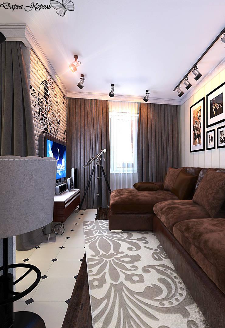 studio room : Гостиная в . Автор – Your royal design