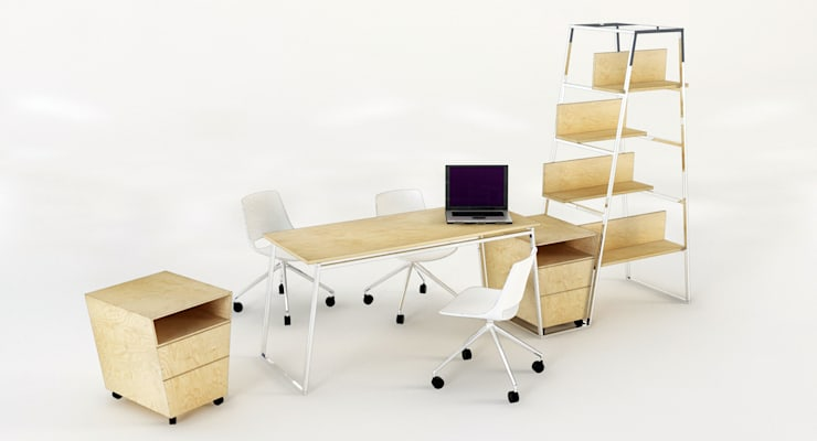 Seyit Ali GÜZEL – VEYA Ofis Mobilyası:  tarz Ofis Alanları & Mağazalar