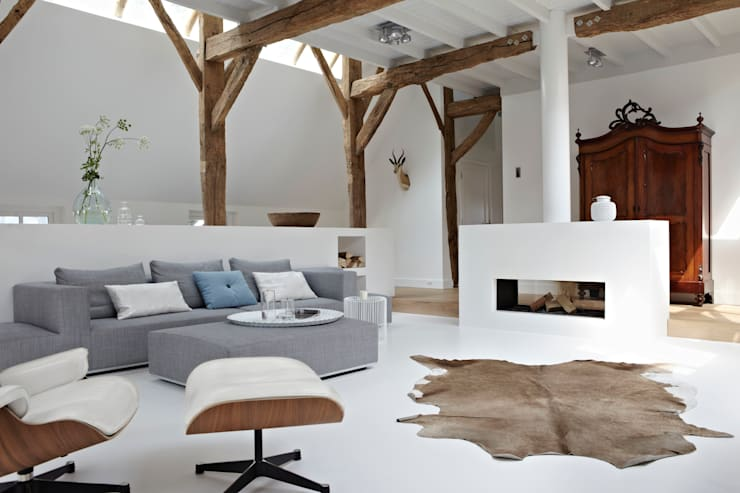 country Living room by reitsema & partners architecten bna
