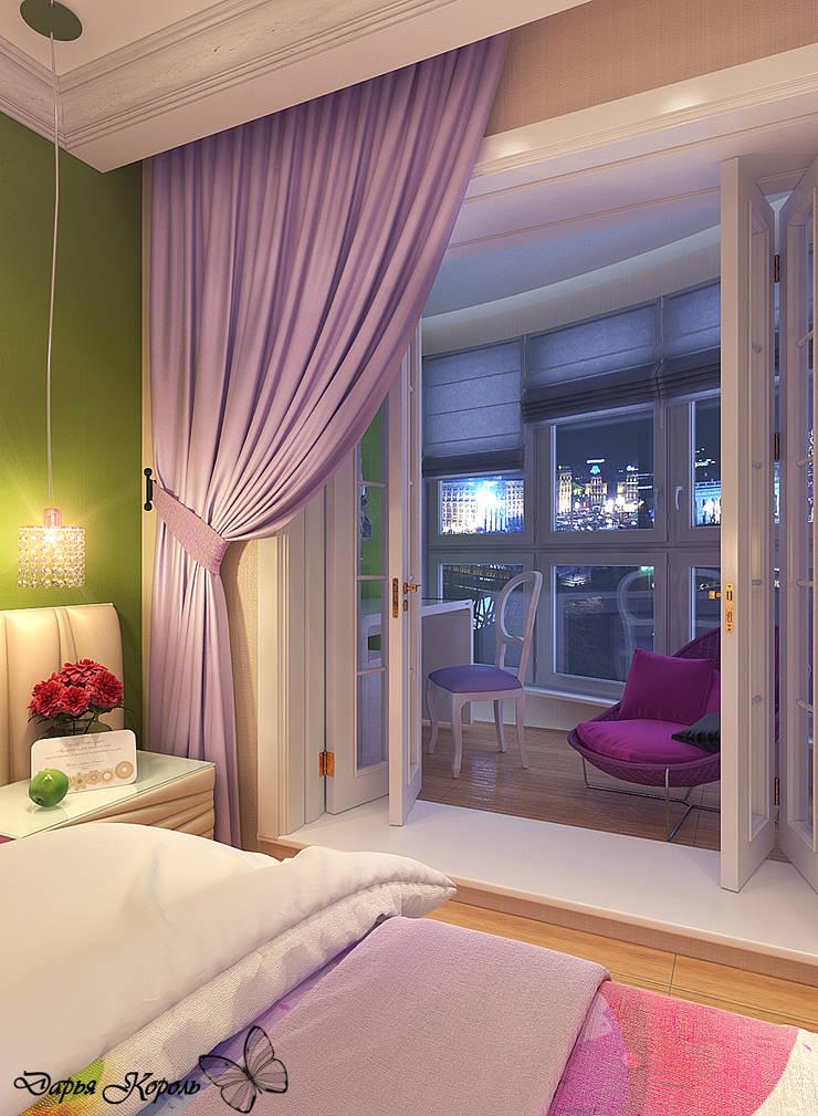 bedroom with dressing room: Спальни в . Автор – Your royal design