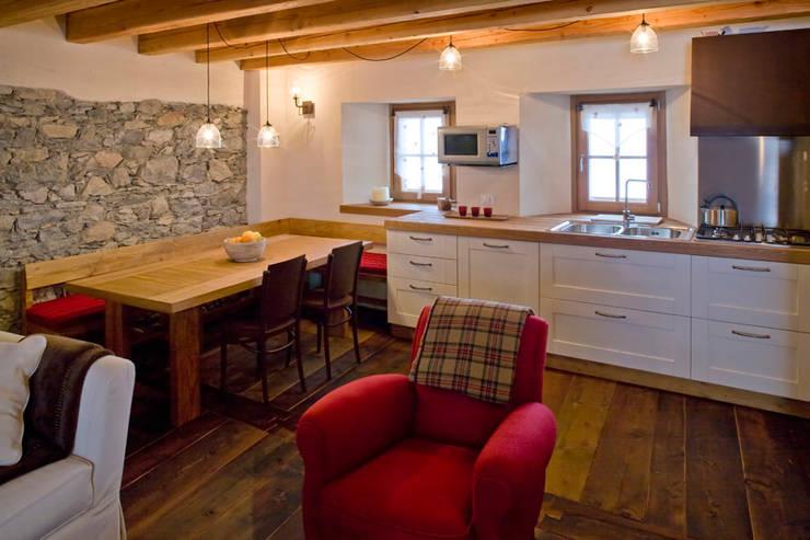 Projekty,  Kuchnia zaprojektowane przez geroni modi di abitare sas