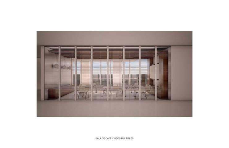 OFICINAS POLANCO de gOO Arquitectos Minimalista