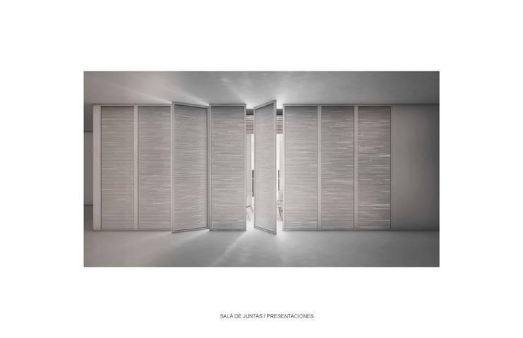OFICINAS POLANCO Centros de exposiciones de estilo minimalista de gOO Arquitectos Minimalista