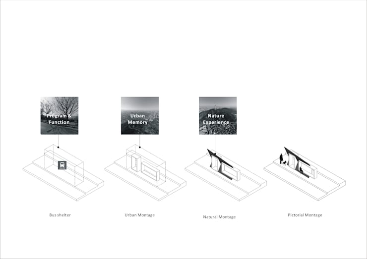 BUS shelter [Pictorial Montage]: 더그라운드 건축 The ground Architects의
