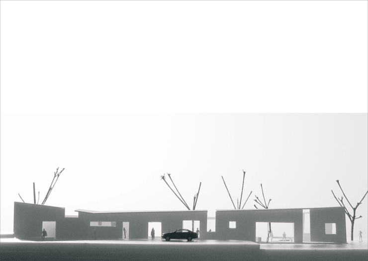 [The hidden depth] 서울대 정문앞 간이휴게소 리모델링 : 더그라운드 건축 The ground Architects의