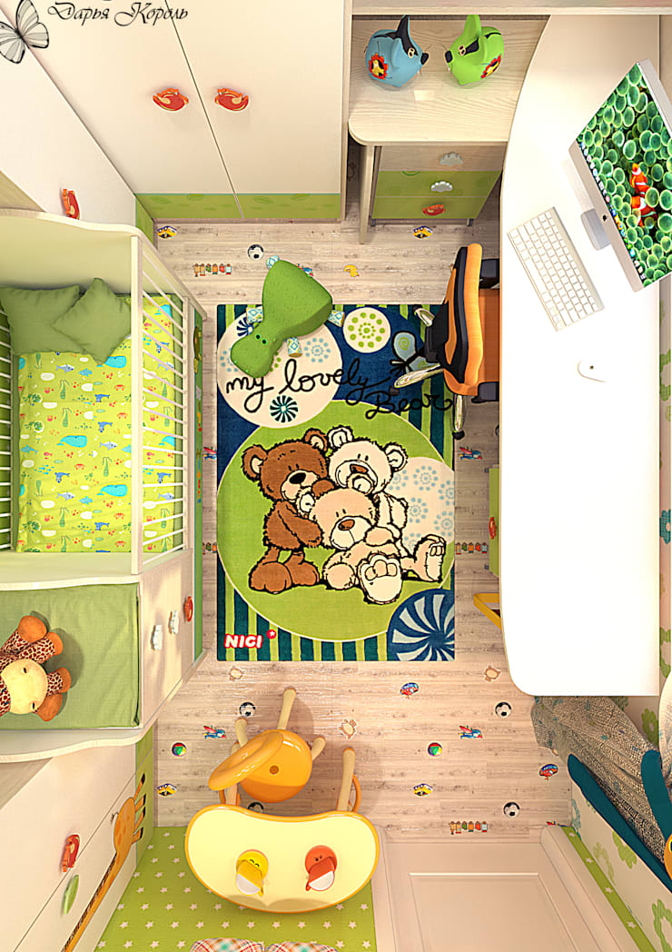 Eclectische kinderkamers van Your royal design Eclectisch
