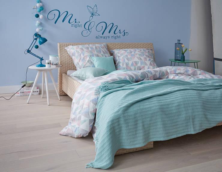 Camera da letto in stile  di diewohnblogger