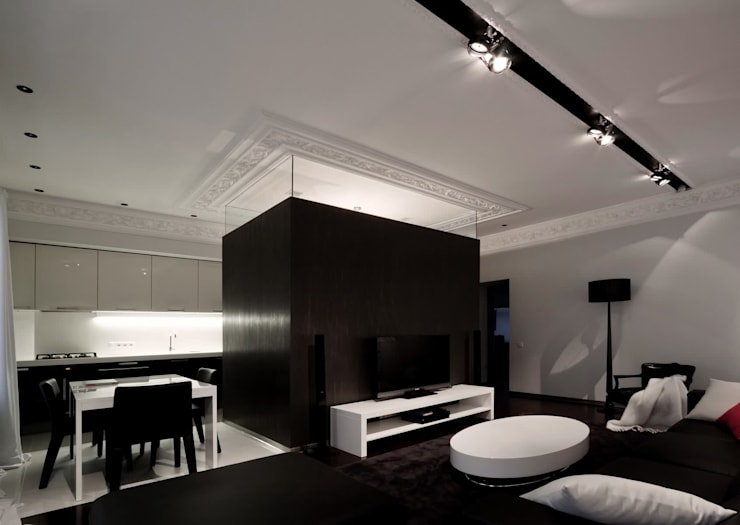 Living room by Archibrook, Minimalist