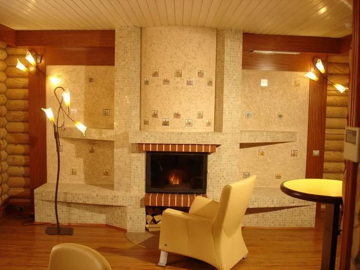 Дом: Гостиная в . Автор – архитектурная мастерская МАРТ