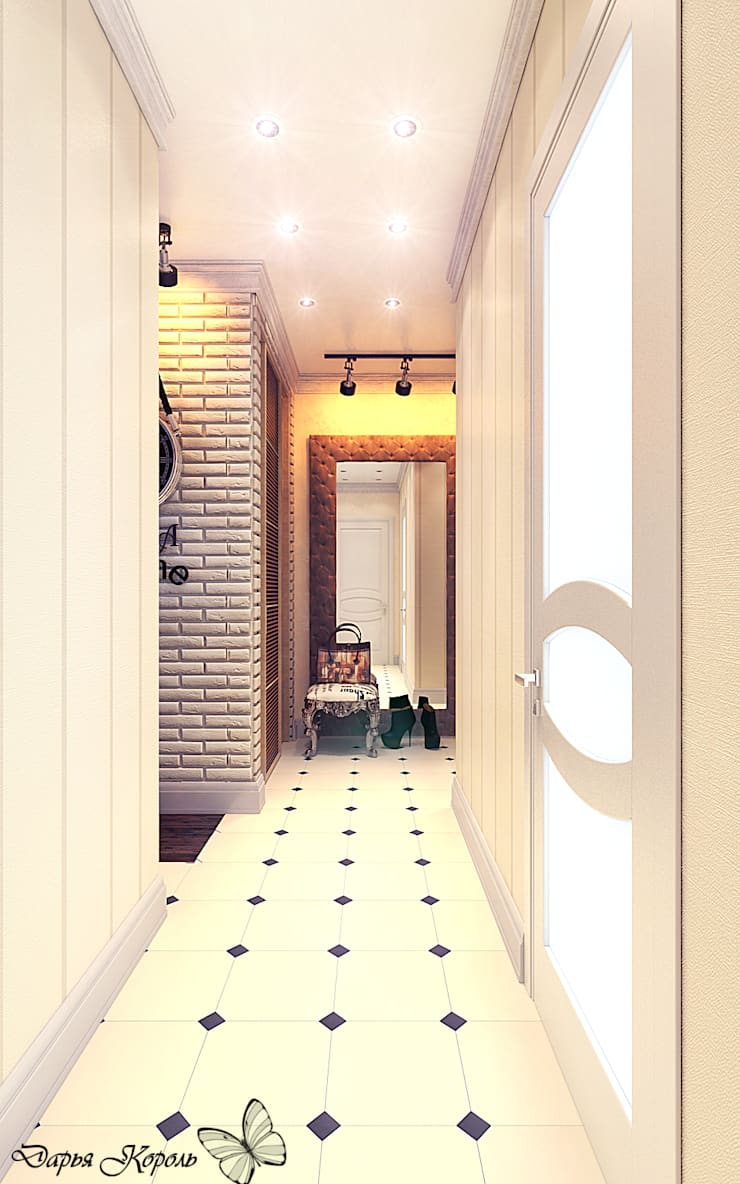 hall: Коридор и прихожая в . Автор – Your royal design