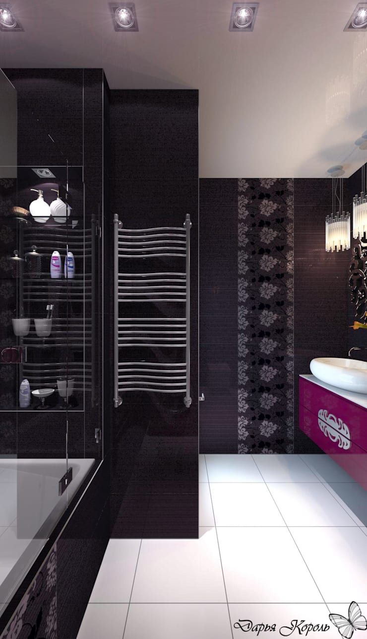 Salle de bain originale par Your royal design Éclectique