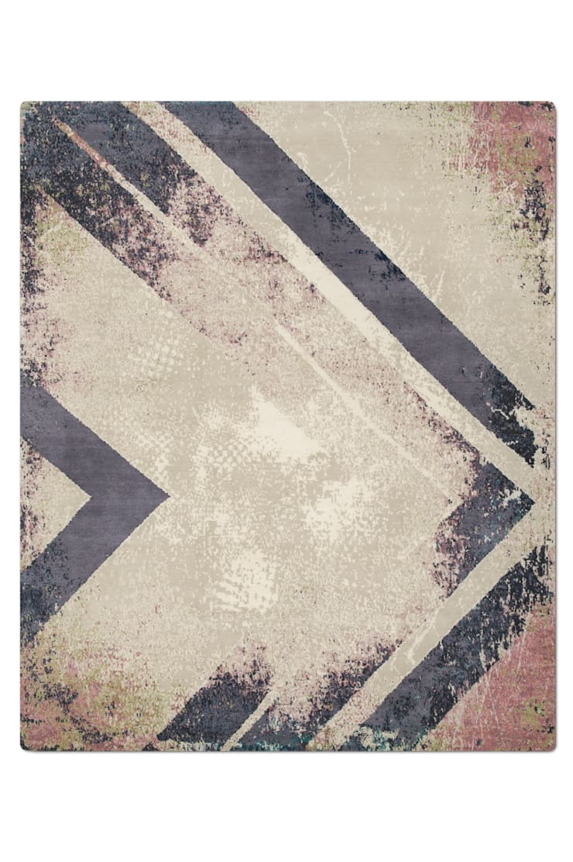 Chevron_Earth:  Walls & flooring by Knots Rugs