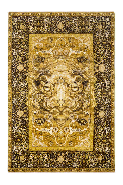 17th Century Modern Tiger:  Walls & flooring by Knots Rugs