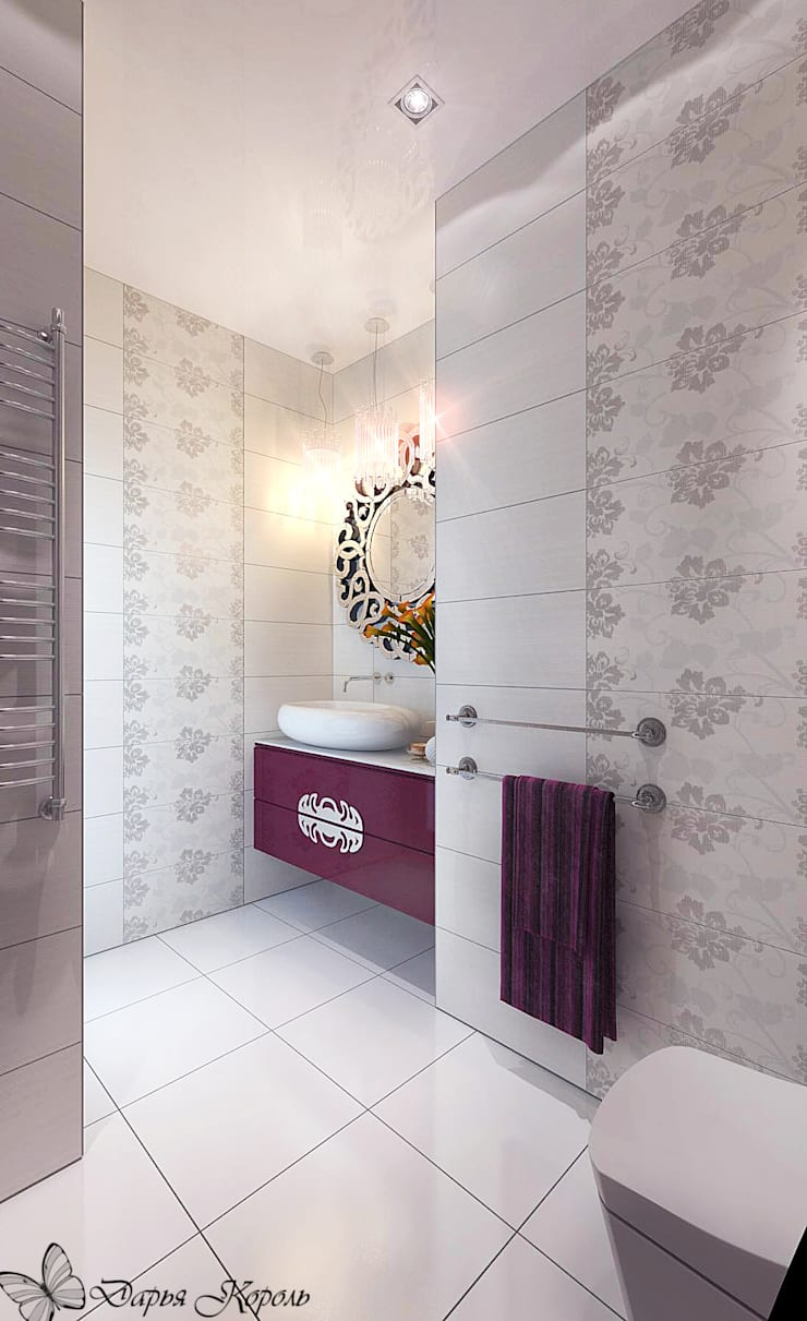 Eclectic style bathroom by Your royal design Eclectic
