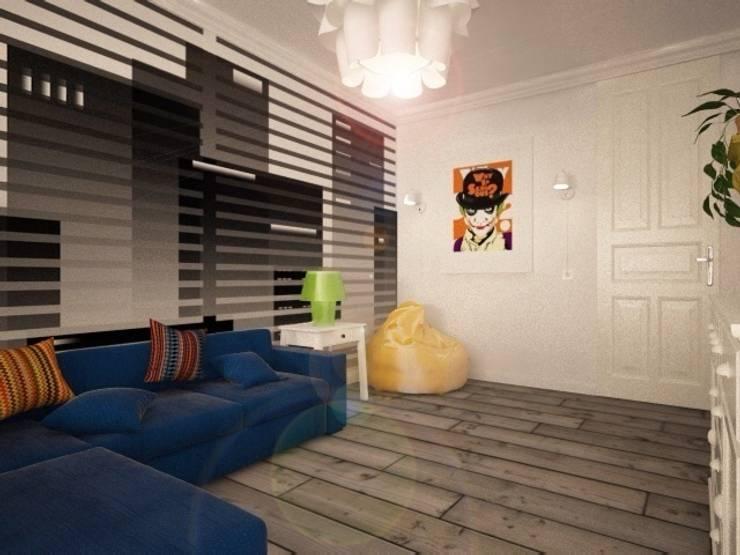 Гостиная : Гостиная в . Автор – O2interior