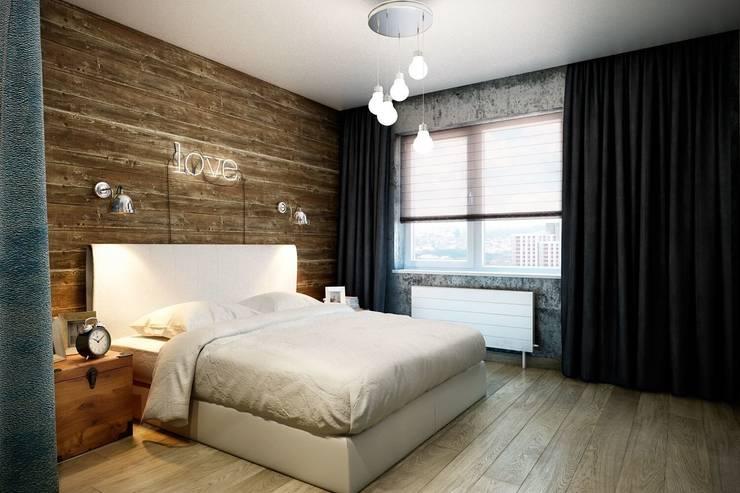 Dormitorios de estilo  de CO:interior,