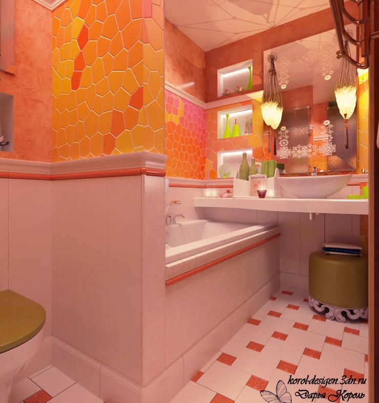 Bathroom: Ванные комнаты в . Автор – Your royal design, Азиатский