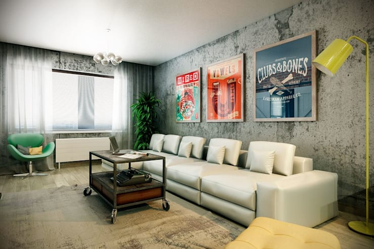 Salones de estilo  de CO:interior,