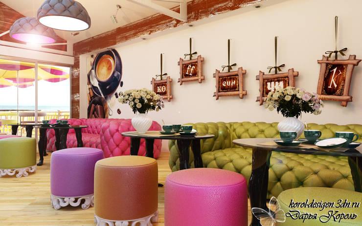 restaurant on the seafront: Столовые комнаты в . Автор – Your royal design,