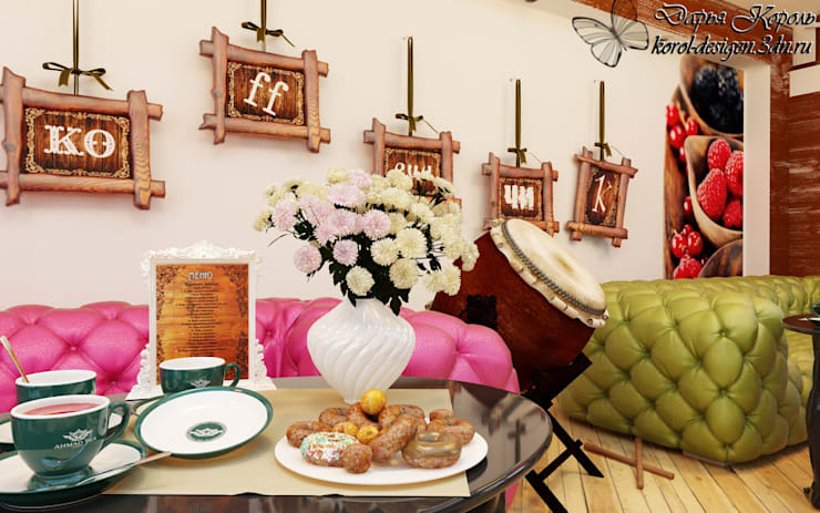 Dining room by Your royal design, Eclectic